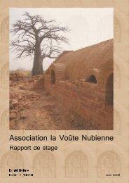 Partie 1 - Voûte nubienne - Association la Voûte Nubienne