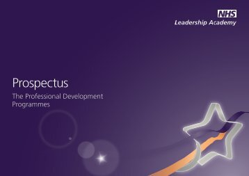 NHS Leadership Academy Prospectus - The East Midlands ...