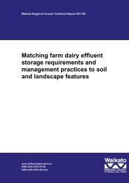 Matching farm dairy effluent storage requirements and management ...