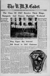 The Cadet. VMI Newspaper. November 26, 1965 - New Page 1 ...