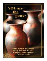 FIRST SUNDAY OF ADVENT - St. Anthony Catholic Church