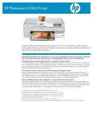 IPG Consumer OV2 Inkjet Printer Datasheet