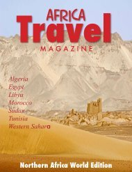 Africa Travel - air highways - magazine of open skies, world airlines