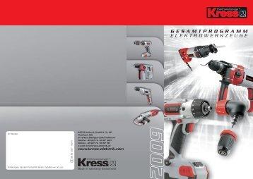 Kress-Hochleistungs- Winkelschleifer bis 2500 Watt - AWI