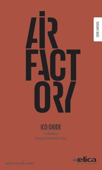Flyer Ico Oxide - AirFactory - Elica