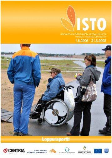 ISTO-hankkeen loppuraportti (PDF) - Centria tutkimus ja kehitys