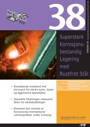 Supersterk Korrosjons- bestandig Legering med Rustfritt Stål - abema