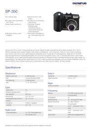 SP-350, Olympus, Compact Cameras