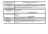 Leistungsbeschreibung Heilpädagogisches ... - Leo-Lionni-Haus