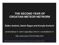 THE SECOND YEAR OF CROATIAN METEOR NETWORK