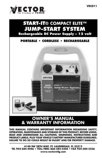 JUMP-START SYSTEM - Baccus Global