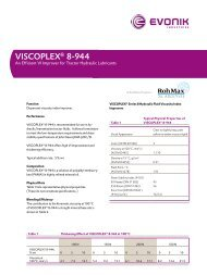 VISCOPLEX® 8-944 - Evonik Oil Additives