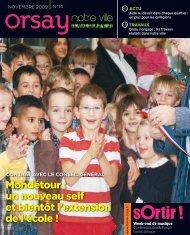 Orsay, notre ville - n°14 novembre