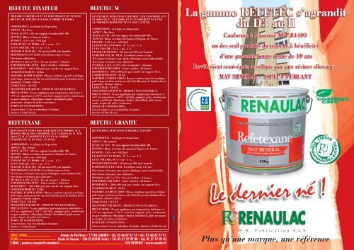 Refetexane Renaulac
