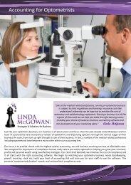 Accounting for Optometrists.pub - Linda McGowan Accountants