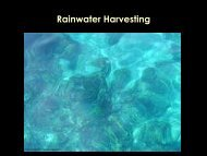Components of Rainwater Harvesting