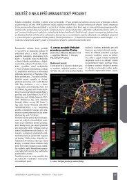soutěž o nejlepší urbanistický projekt - Ústav územního rozvoje