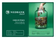 Code of ethiCs - Nedbank Group Limited