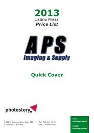 Quick Cover - APS Imaging Solutions
