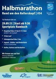 Download PDF Flyer - TuS Wiesbaden-Rambach eV