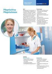 Pflegefachfrau Pflegefachmann - Gesundheitsberufe Bern