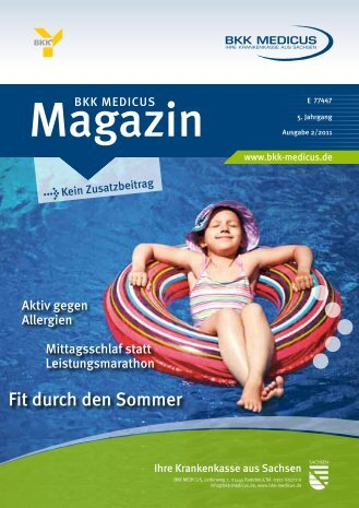 Fit durch den Sommer - BKK Medicus