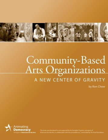 Community-Based Arts Organizations - Grantmakers in the Arts