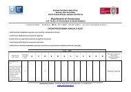 2010 Cronoprogramma UO Tecnici Prevenzione ... - Azienda USL7