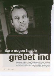 Jens Arentzen voksede op med en psykisk syg ... - Greve Kommune