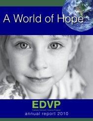 annual report 2010 - Eastside Domestic Violence Program