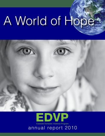 annual report 2010 - Eastside Domestic Violence Program
