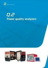 Power quality analyzers - Metartec