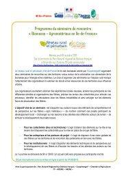 Programme - Réseau Rural Français