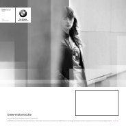 BMW MoToRRad, UN STYLE dE VIE - Herpigny Motors