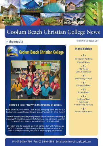 Coolum Beach Christian College News