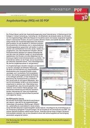 Angebotsanfrage (RfQ) mit 3D PDF - Prostep AG