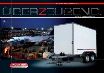 www.woermann-anhaenger.de Koffer-Anhänger mit Klasse.