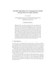 Parallel Algorithms for Computing the Smith Normal Form of Large ...