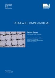 permeable paving systems - International Specialised Skills Institute