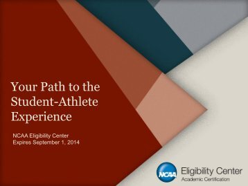 Your Path to the Student-Athlete Experience - Fulton County Schools