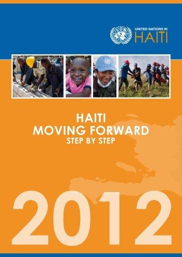 HAITI MOVING FORWARD - ONU en Haiti