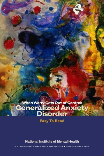 Generalized Anxiety Disorder Uf Counseling Wellness Center