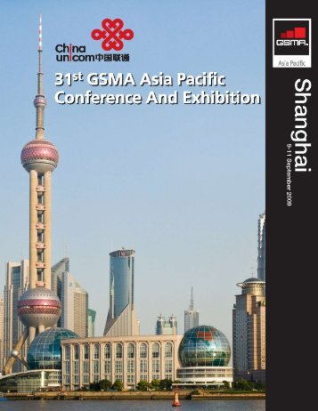 31st GSMA Asia Pacific Conference And Exhibition - GSM Asia Pacific