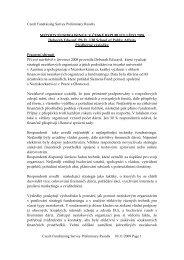 Metody fundraisingu v České republice - Neziskovky