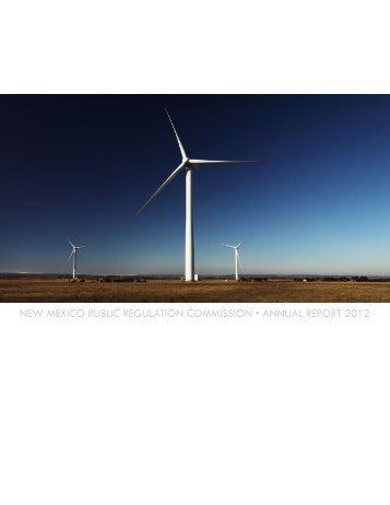 PRC Fiscal Year 2012 Annual Report - New Mexico Public ...