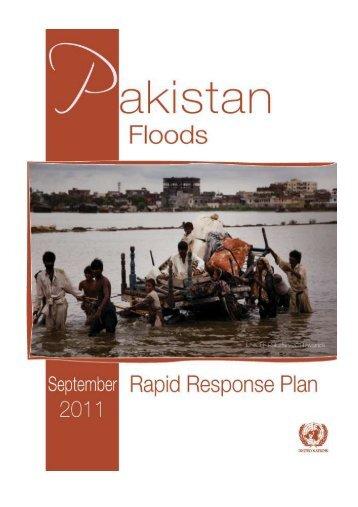 Pakistan Floods 2011 - Humanitarian Response
