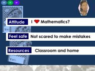 Maths Session 3 of 4 - SATeacher