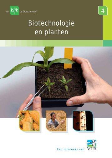 Biotechnologie en planten - VIB