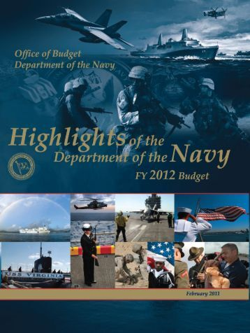 Budget Highlights Book - DON FM&C Website - U.S. Navy