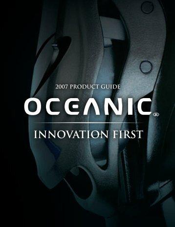 Oceanic 2007 catalog - ScubaDiverInfo.com